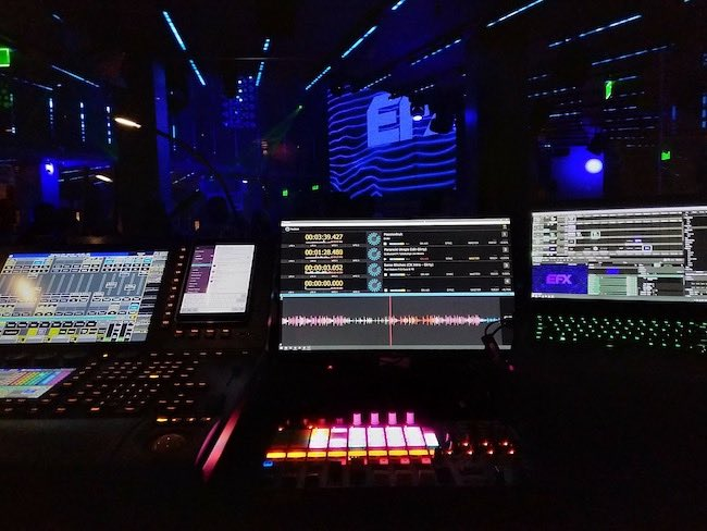 Front of house using ProDJLink in Costa Mesa, California